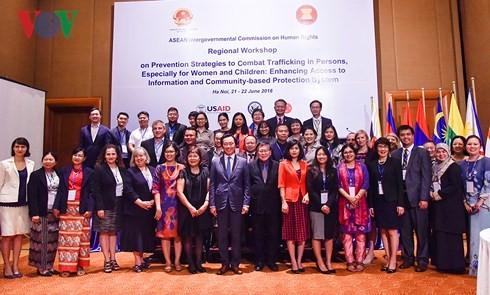 ASEAN、人身売買防止対策を強化 - ảnh 1