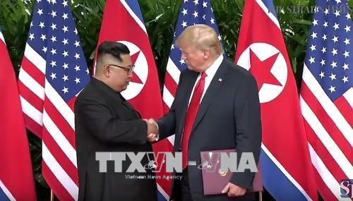 朝鮮民主主義人民共和国は「完全な非核化を直ちに開始」、トランプ氏が主張  - ảnh 1