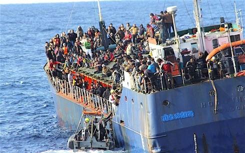 EUの移民・難民問題 - ảnh 1