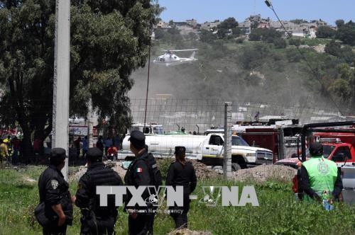 メキシコで花火倉庫爆発 救助要員含む24人死亡、49人負傷 - ảnh 1