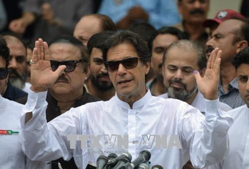 カーン氏勝利宣言 対米で強硬姿勢も パキスタン議会下院選挙 - ảnh 1