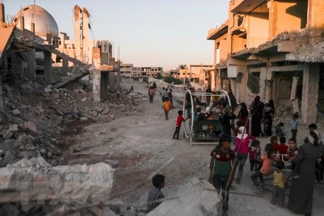 米、シリア復興支援拠出を中止=早期撤退否定、IS掃討継続 - ảnh 1