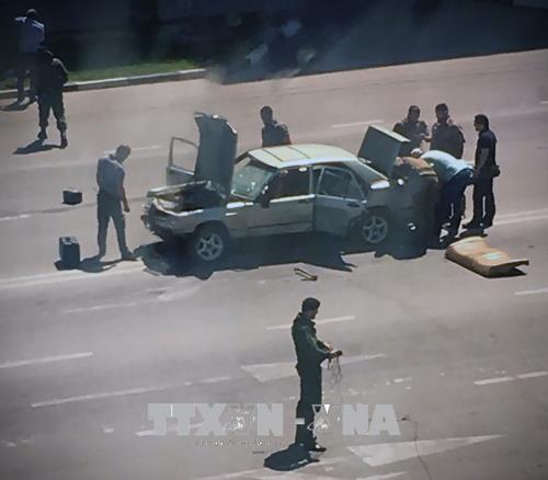 チェチェン3か所で警察襲撃、ISが犯行声明 ロシア南部 - ảnh 1