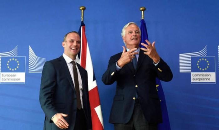 離脱交渉、「最終段階」に=英EU高官が会談 - ảnh 1