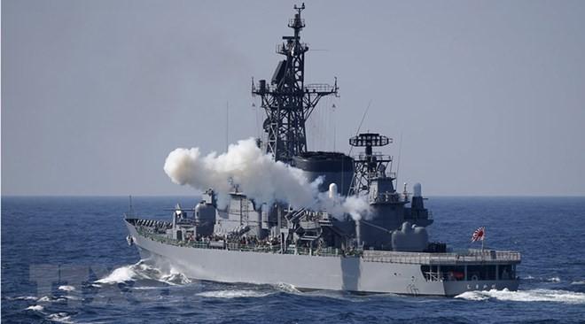 豪の多国間軍事演習に中国初参加 緊張緩和につながるか - ảnh 1