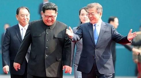 文大統領の対北特使派遣に…米国務省「非核化に歩調合わせるべき」 - ảnh 1