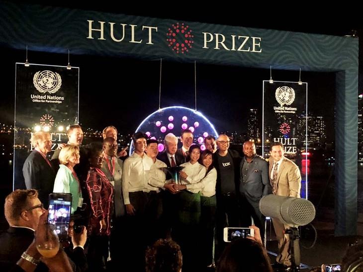 世界最大規模の社会起業家コンテストHult Prizeでベトナムの技術 優勝 - ảnh 1
