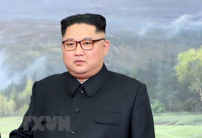 南北首脳きょうも会談、金正恩氏 米朝関係進展に期待 - ảnh 1