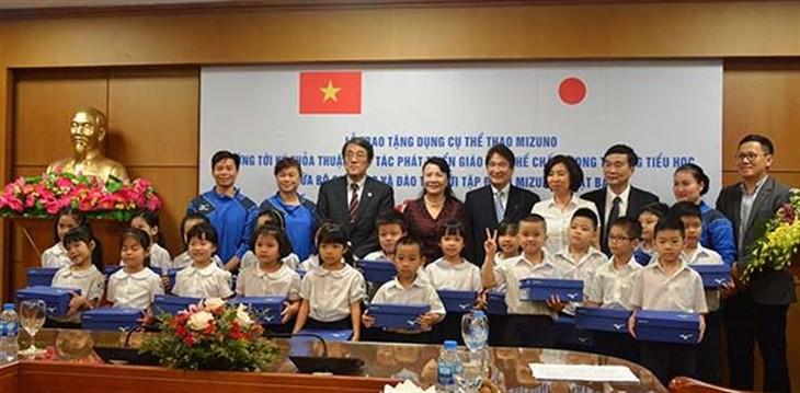 日本、ベトナムに近代的体育教育プログアムを支援 - ảnh 1