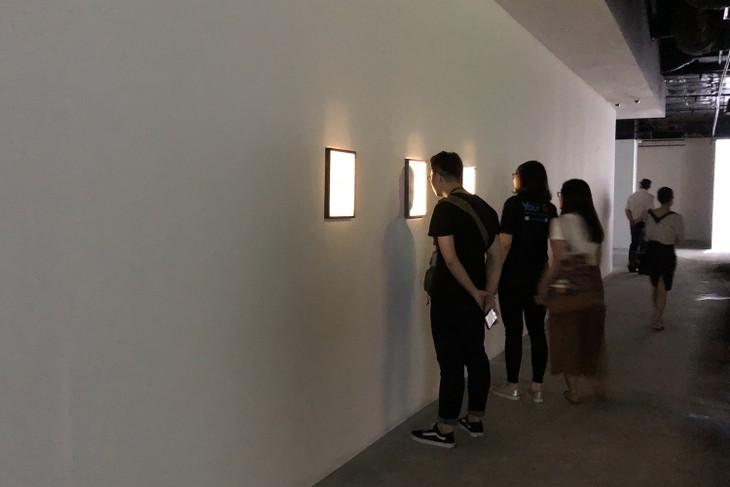 ハノイで開催中の日本人アーチストの「フラグメントズ」展覧会 - ảnh 3