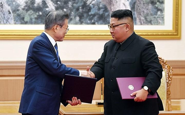 韓国 ピョンヤンに訪朝団派遣へ 4日から南北記念行事を開催 - ảnh 1