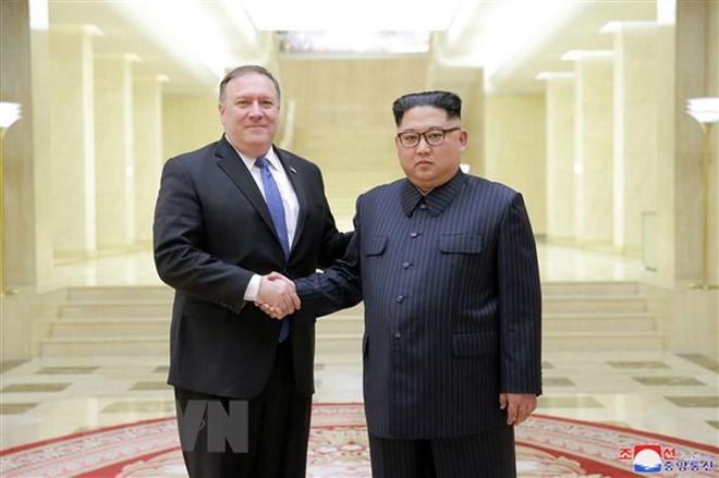 米国務長官が週末に訪朝、金委員長と会談へ 日中韓も訪問 - ảnh 1