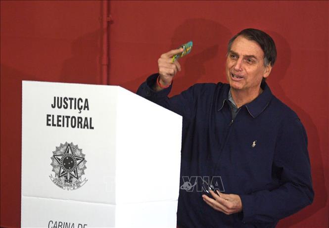 ブラジル大統領選、投票開始 - ảnh 1