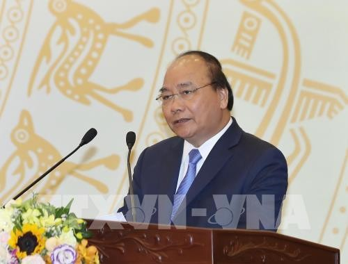 日本のマスメディア、フック首相の訪問を報道 - ảnh 1