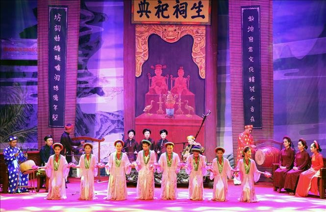 ベトナムの伝統芸能カーチューの全国フェスティバル 開催 - ảnh 1