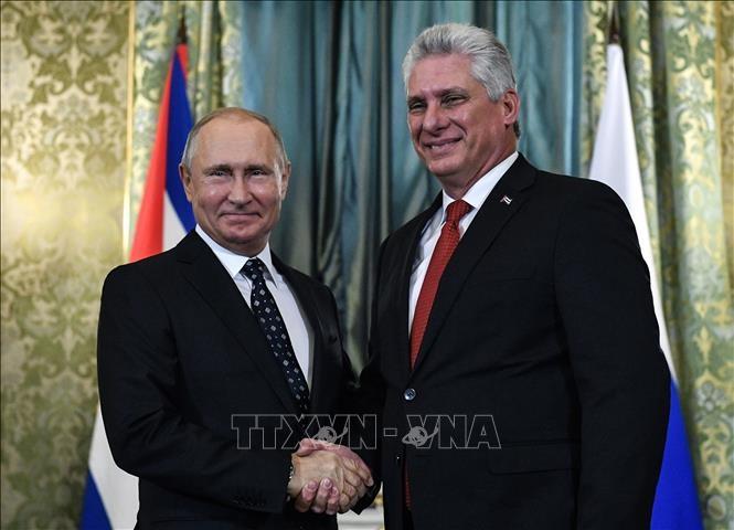 キューバ議長、プーチン大統領と会談 武器購入で合意 - ảnh 1