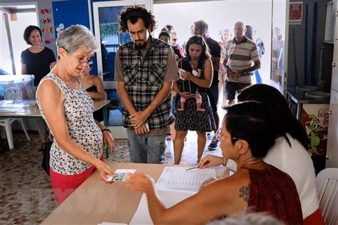 仏領ニューカレドニア 住民投票で独立反対が過半数占める - ảnh 1