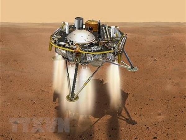 NASAの探査機、火星着陸に成功 「恐怖の7分間」乗り切る - ảnh 1