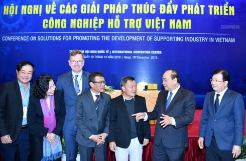 ベトナム政府 裾野産業の発展に集中(更新) - ảnh 1