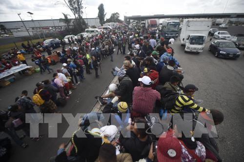 難民申請の中米移民 審査中の滞在認めずメキシコ送還に 米政権 - ảnh 1