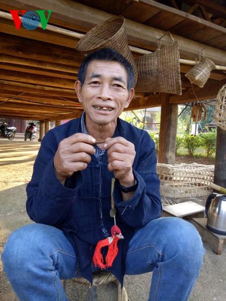 コム族の「サローン」と呼ばれる口琴 - ảnh 1