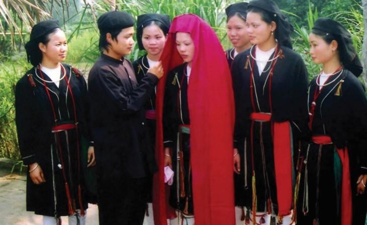 サンジュ族の結婚式 - ảnh 3