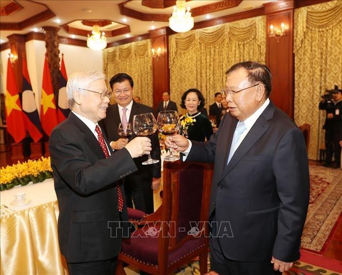 ベトナム・ラオス特別関係の維持と発展 - ảnh 1