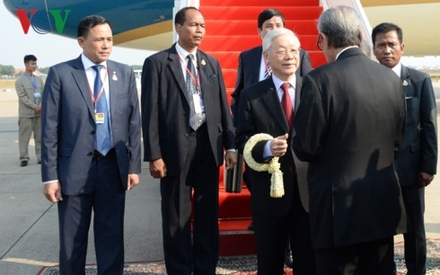 チョン氏、カンボジア国賓訪問を開始 - ảnh 1