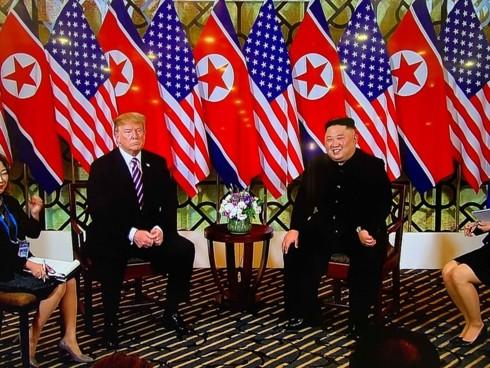 トランプ大統領、米朝首脳会談を楽観視 - ảnh 1