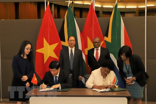 ベトナム・南ア 全面的協力を強化 - ảnh 1