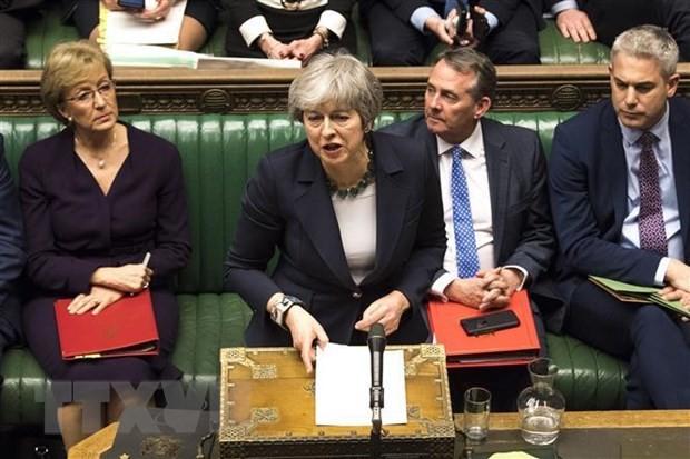 英首相、離脱の取り組み断念と脅し 賛成なければ3回目採決なし - ảnh 1