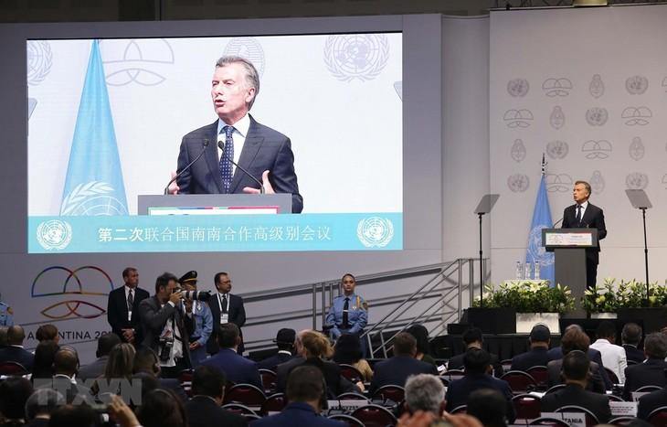 国連の第2回南南協力サミットに参加 - ảnh 1