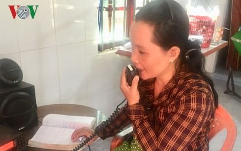 夫との愛の無線機が漁師たちを救う - ảnh 1