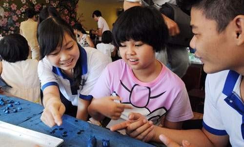 自閉症の子どもたちの社会復帰を助ける - ảnh 1