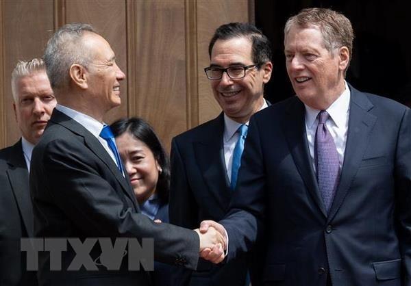 米財務長官、中国での通商協議を近く計画=報道官 - ảnh 1