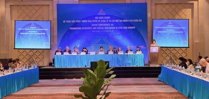 ASEM 経済社会の包括的発展を目指す協力を強化 - ảnh 1