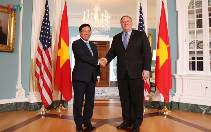 ミン副首相兼外相、アメリカを公式訪問 - ảnh 1