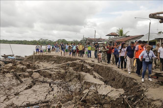 ペルーでM8.0の地震、1人死亡 エクアドルでも負傷者 - ảnh 1