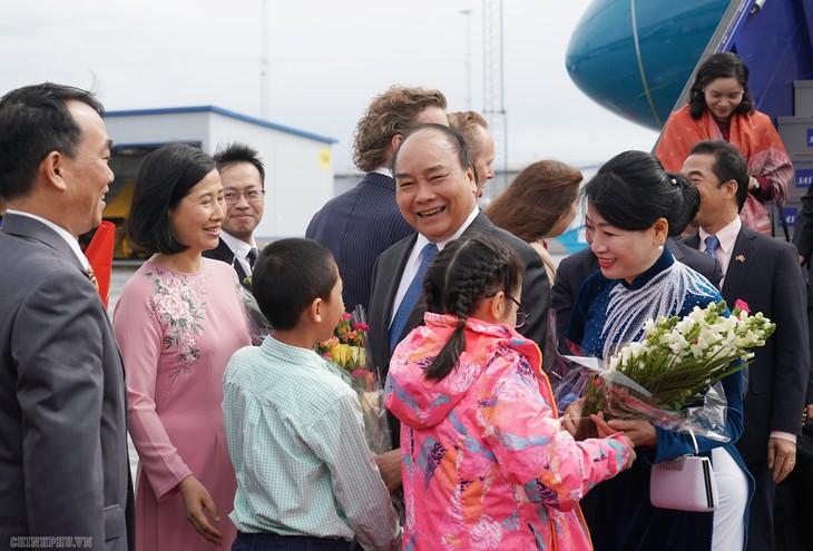 フック首相 スウェーデン公式訪問を開始 - ảnh 1