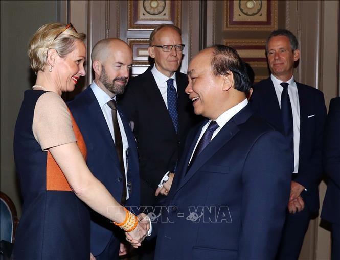 フック首相 ベトナムはスウェーデン企業の有望な市場 - ảnh 1