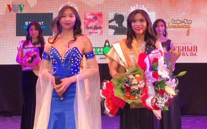 ベトナム人学生、「ミス・アジア・ウラル」で準ミスに選出 - ảnh 1