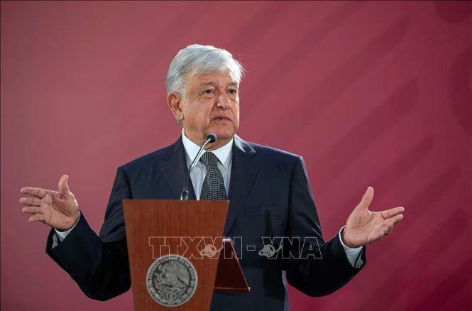 米大統領、メキシコに来週関税の構え 移民「侵略」阻止訴え - ảnh 1