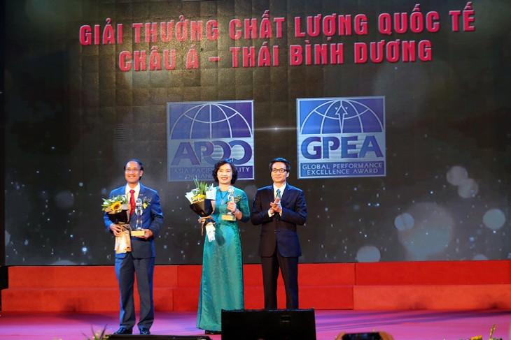 国家品質賞とアジア太平洋地域品質賞の授与式 - ảnh 1