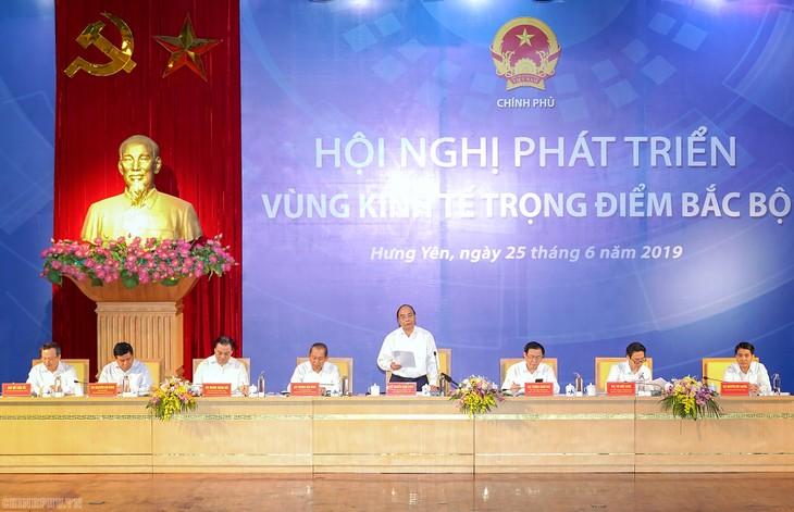 フック首相、北部重点経済地区発展会議を主宰 - ảnh 1