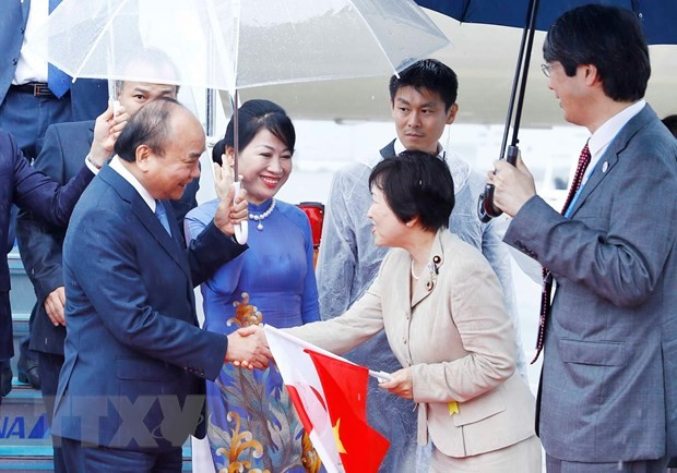 フック首相、大阪に到着し、G20サミットへの参加を開始 - ảnh 1