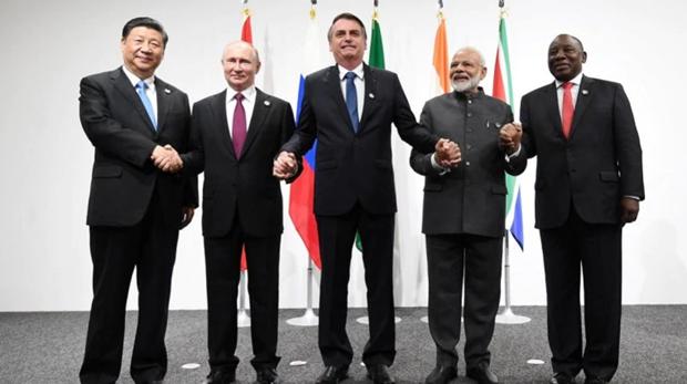 中ロが米保護主義を批判 BRICS首脳会議 - ảnh 1