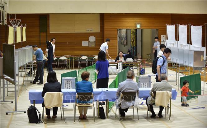 日本の参院選 きょう投票 - ảnh 1