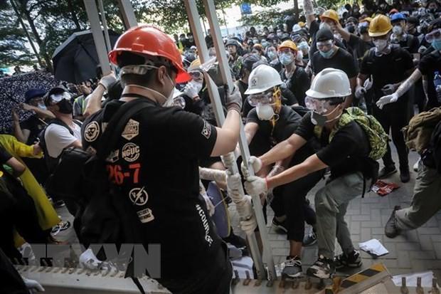 香港デモ、「有害で犯罪的」 中国政府が非難 - ảnh 1