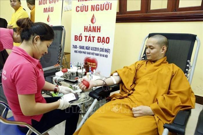 仏教徒 献血運動に参加 - ảnh 1