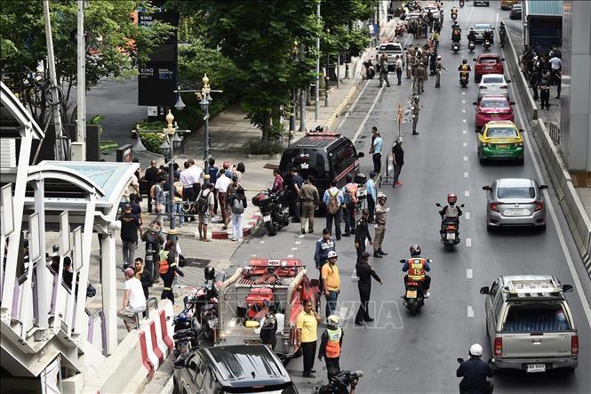 バンコク連続爆発15人超関与か 2人逮捕 市場にも不発弾 - ảnh 1